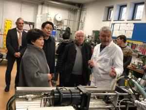 MWI AG Besuch chinesische Hochschule